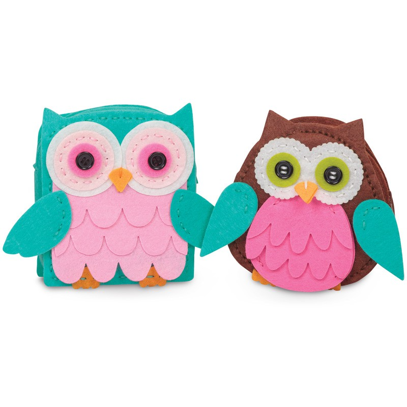 sewing arts and crafts ideas make your own felt owl purse sewing kit arts amp crafts age 6 7123